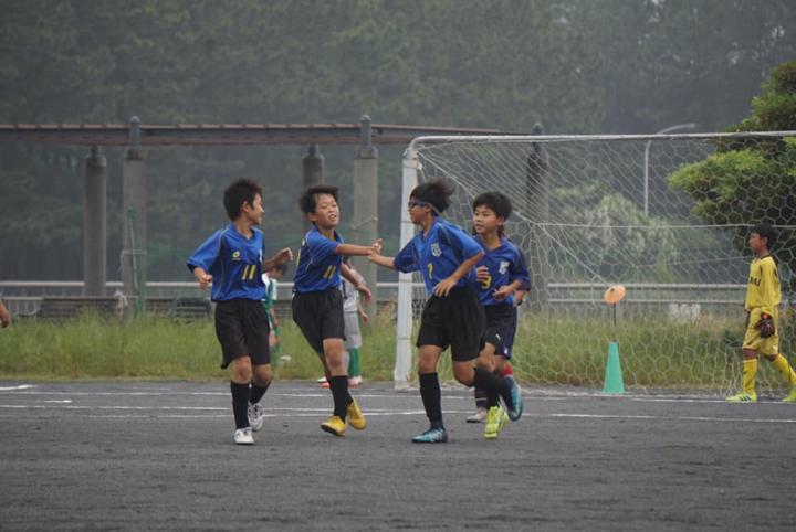 磯子区大会U12-Aの予選リーグが始まりました。